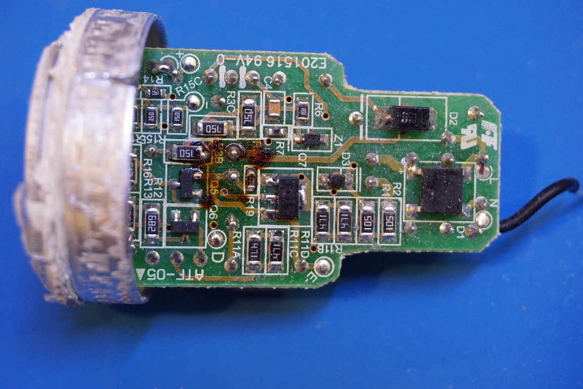 Kerry D Wong Blog Archive Teardown of a Philips Dimmable LED Bulb