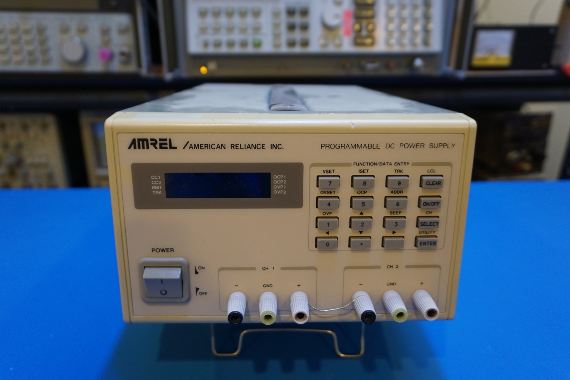 Kerry D  Wong » Blog Archive » Amrel PPS-2322 Programmable Power