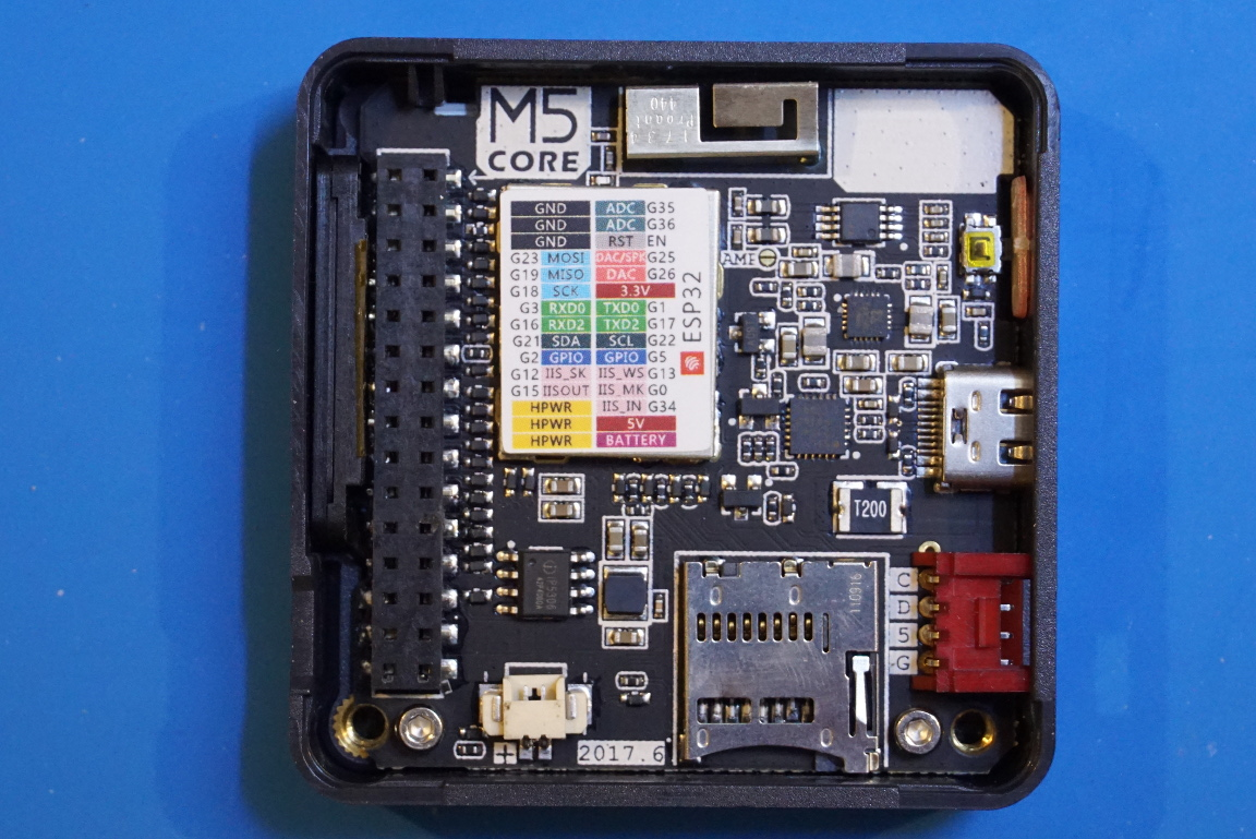 Kerry D  Wong » Blog Archive » A Quick Look at the M5Stack ESP32
